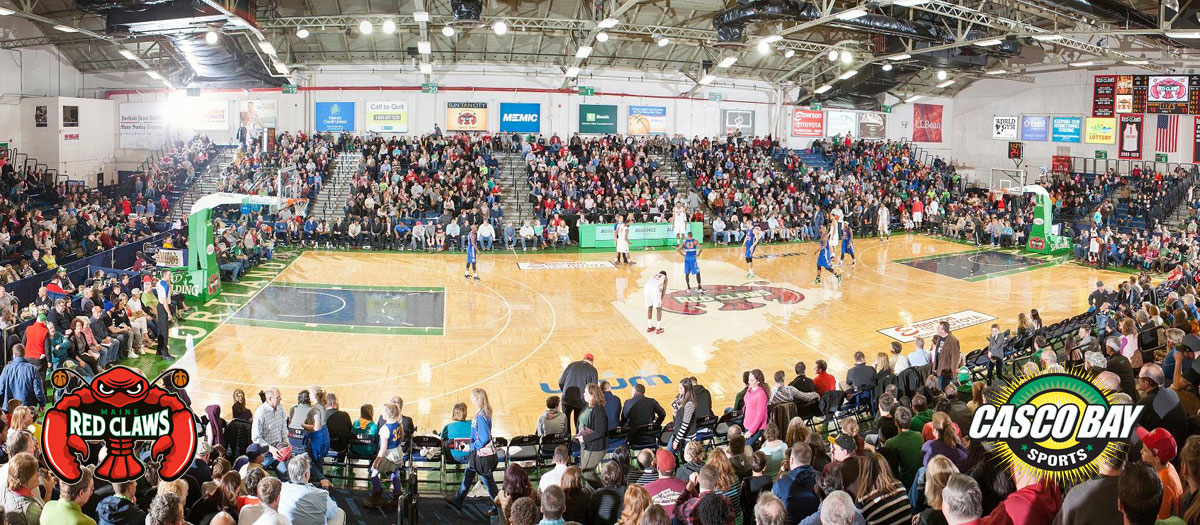 Maine Red Claws Event Slider